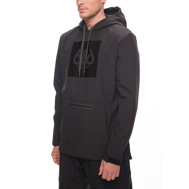 Толстовка 686 ACE Waterproof Hoody (Black) 2