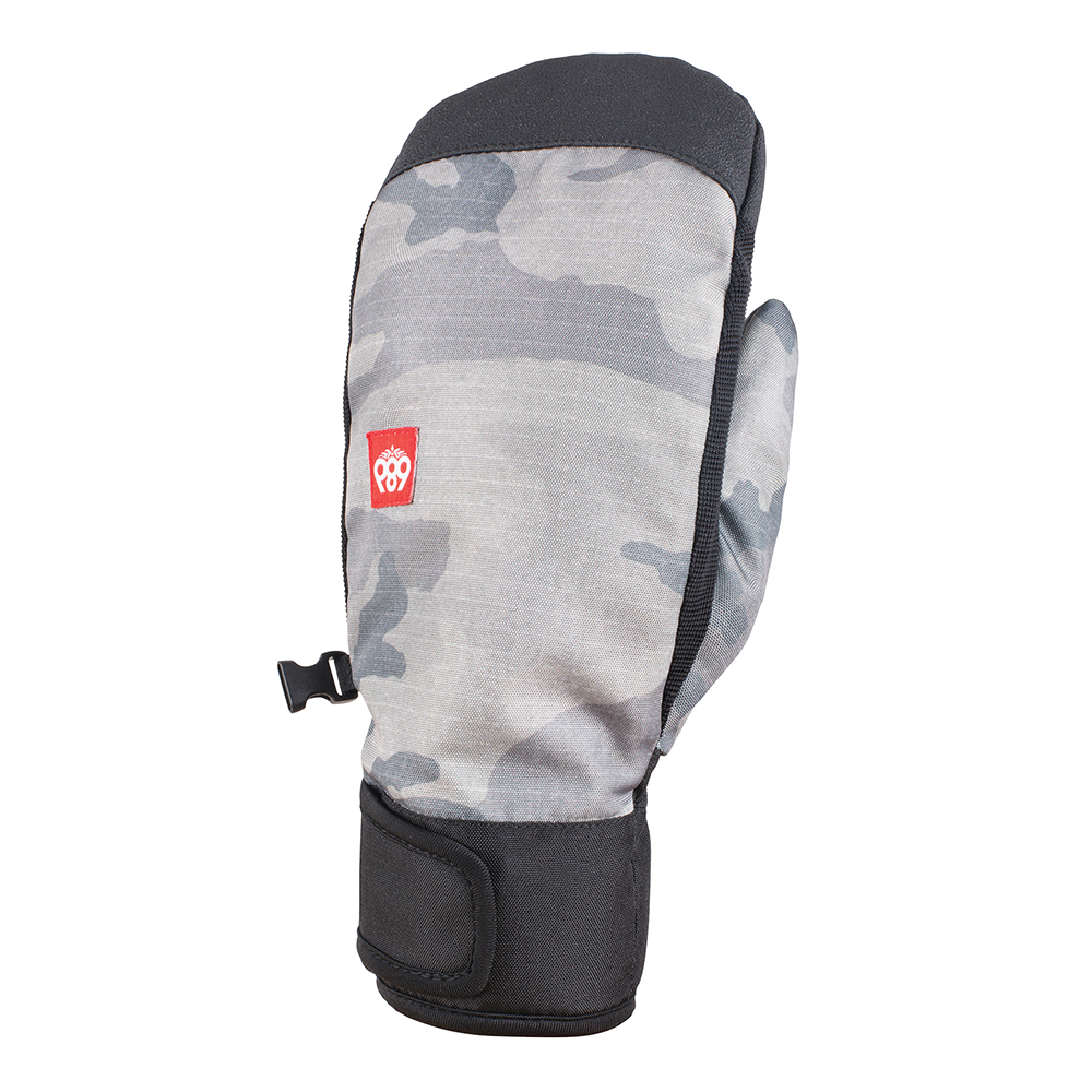Варежки 686 Mountain Mitt (Grey Camo Print) 0