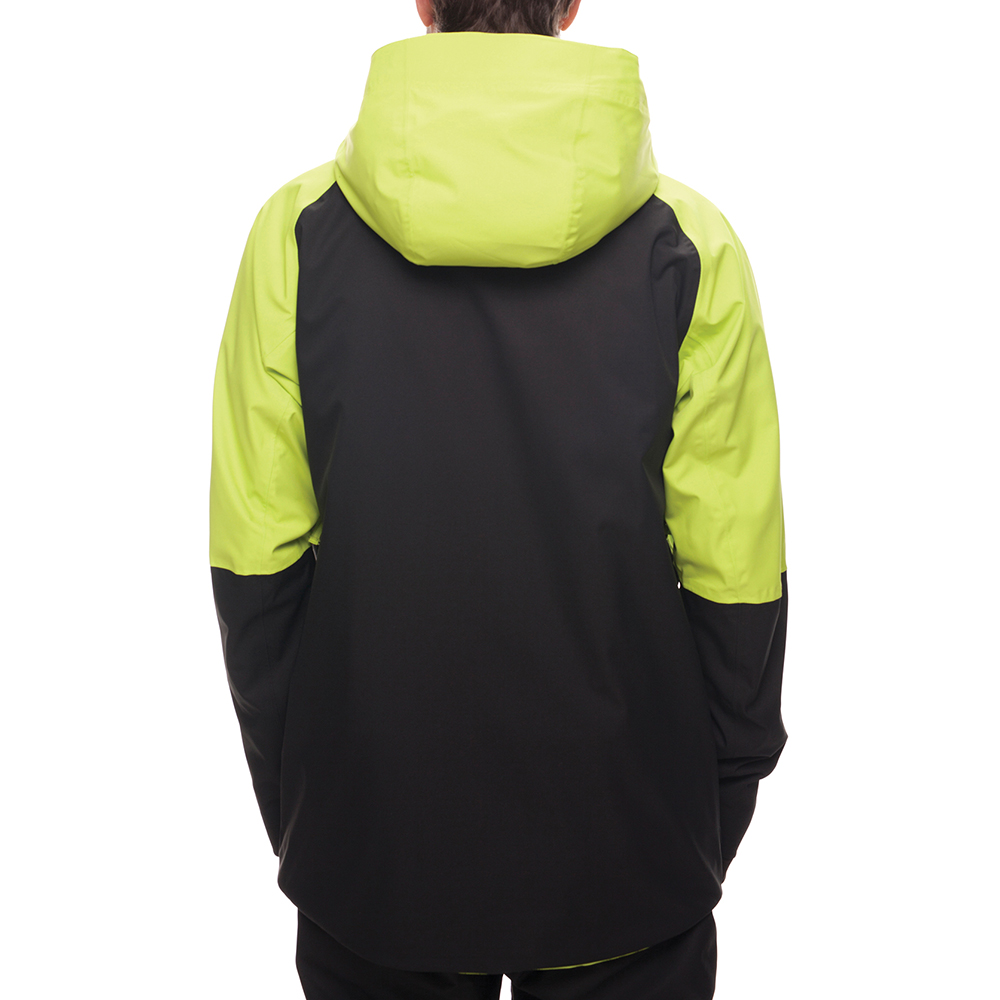 Куртка 686 GLCR Hydra Thermagraph JACKET (Lime Twill Clrblk) 5