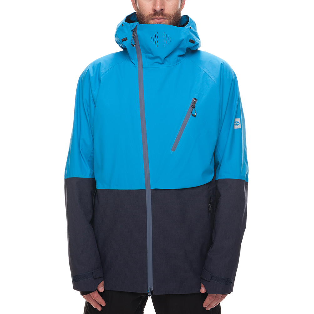 Куртка 686 GLCR Hydra Thermagraph JACKET (Blue Bird Twill Clrblk) 0
