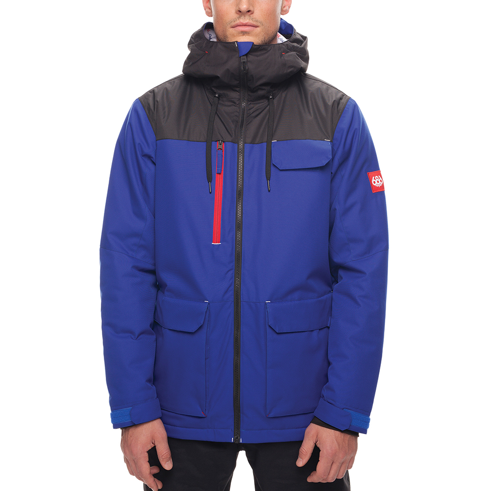 Куртка 686 Sixer Insulated Jacket (Cobalt PBR Clrblk) 0