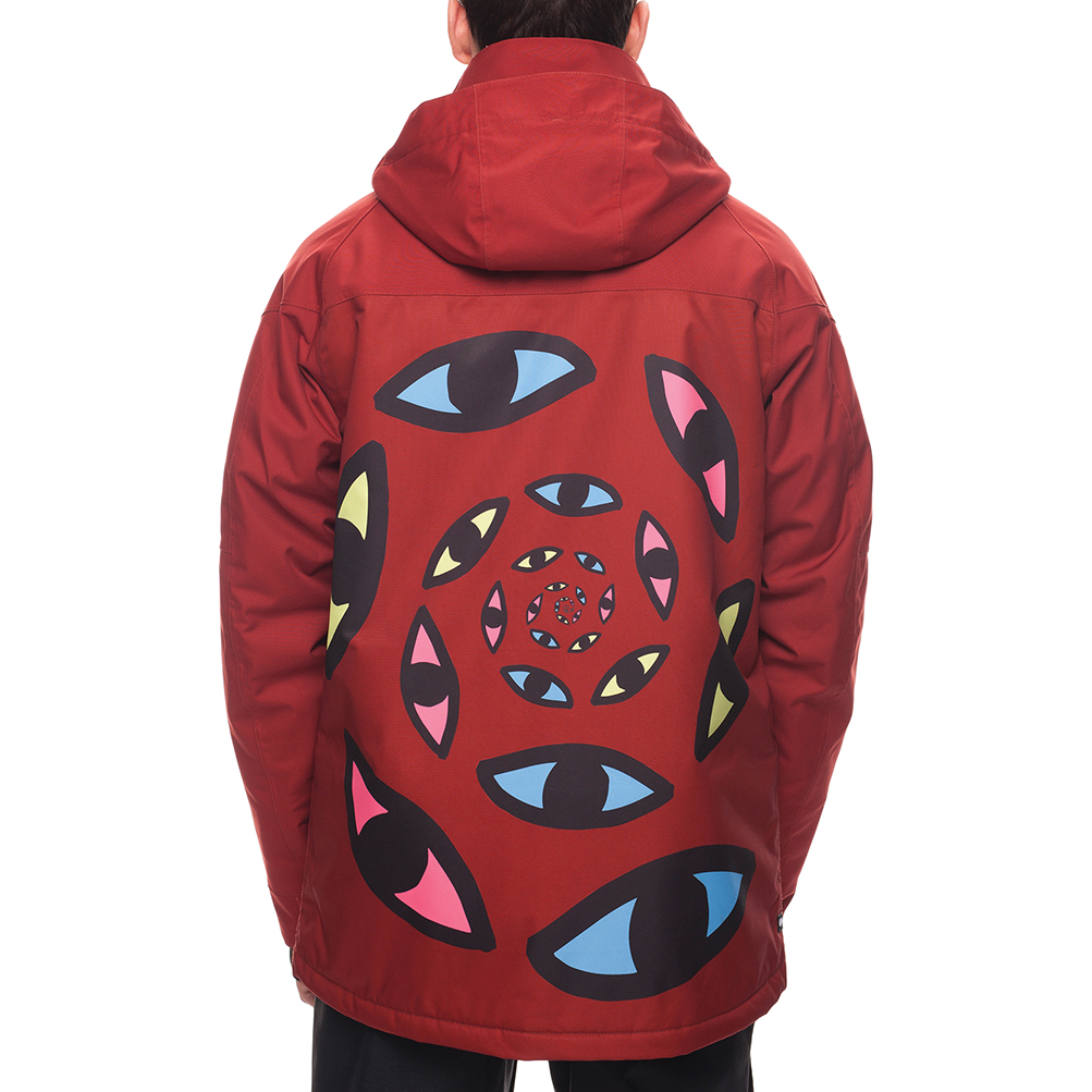 Куртка 686 Piano Insulated Jacket (Rusty Red Sublimation) 2