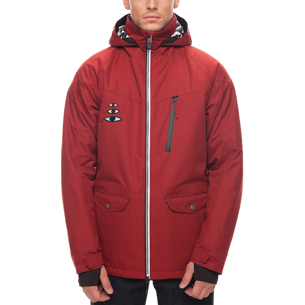 Куртка 686 Piano Insulated Jacket (Rusty Red Sublimation) 0