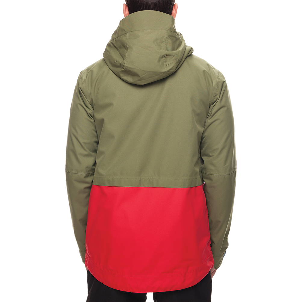 Куртка SMARTY 3-in-1 Form Jacket (Fatigue Colorblock) 2
