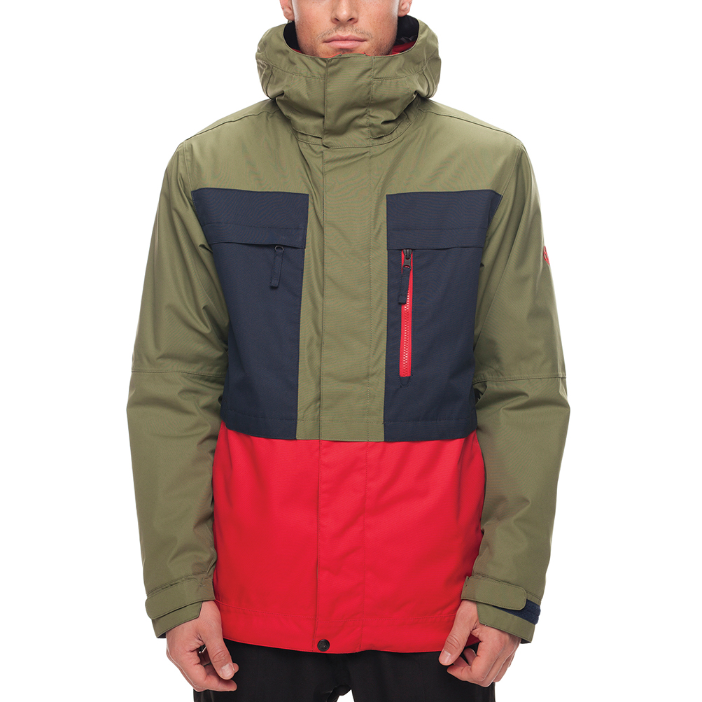 Куртка SMARTY 3-in-1 Form Jacket (Fatigue Colorblock) 0