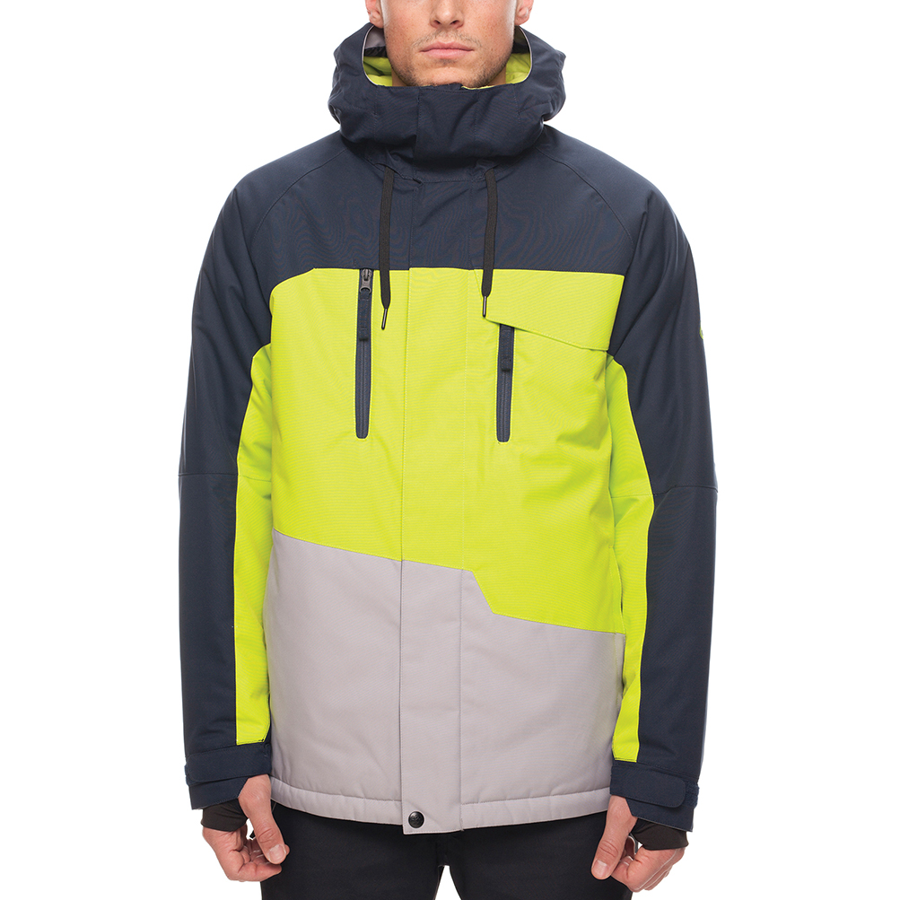Куртка 686 Geo Insulated Jacket (Navy Colorblock) 0