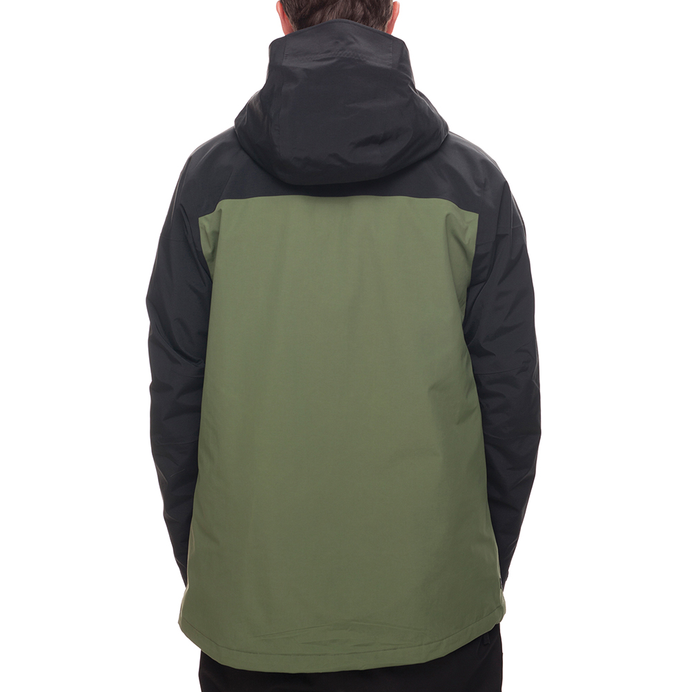 Куртка 686 GLCR GORE-TEX SMARTY 3-in-1 Weapon Jacket (Fatigue Colorblock) 2
