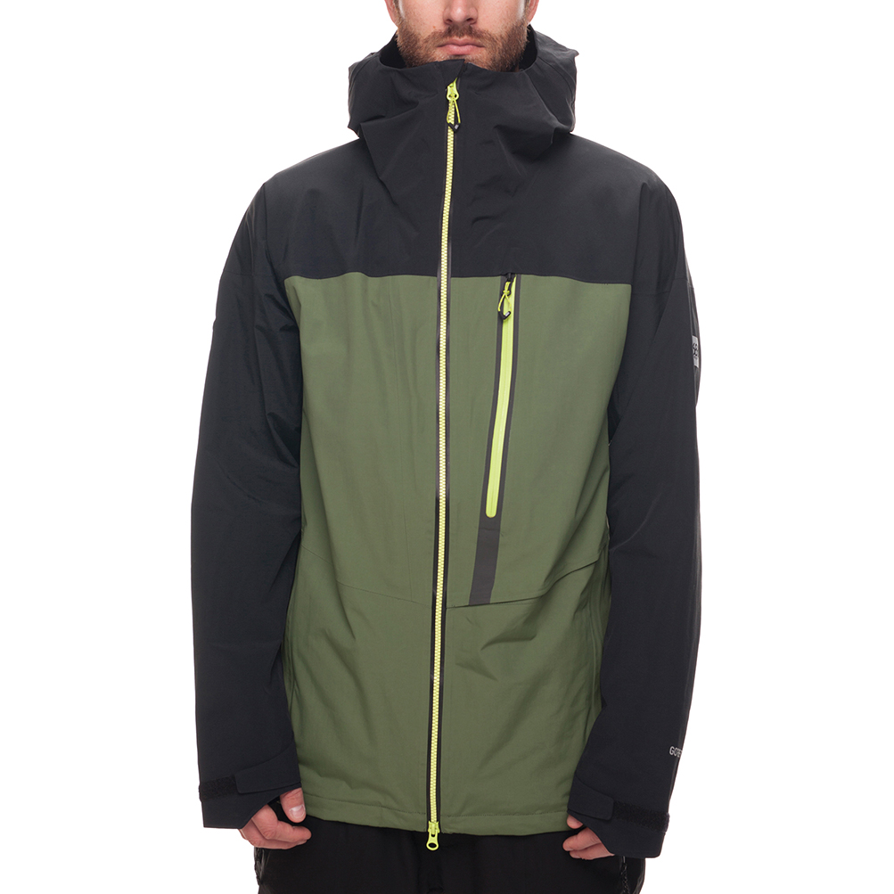Куртка 686 GLCR GORE-TEX SMARTY 3-in-1 Weapon Jacket (Fatigue Colorblock) 0