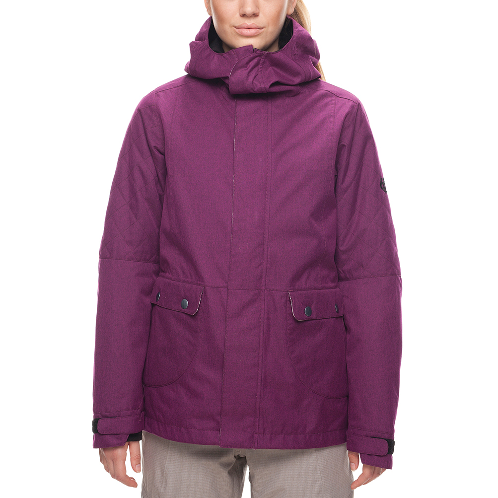 Куртка 686 Smarty 3-in-1 Aries Jacket (Fuchsia Melange) 0