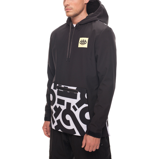 Толстовка 686 ACE Waterproof Hoody (Aaron De La Cruz) 2