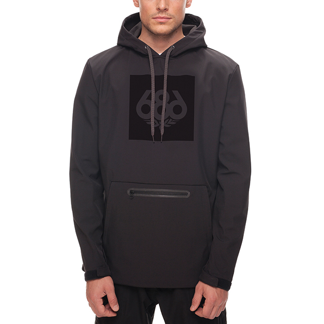Толстовка 686 ACE Waterproof Hoody (Black) 0