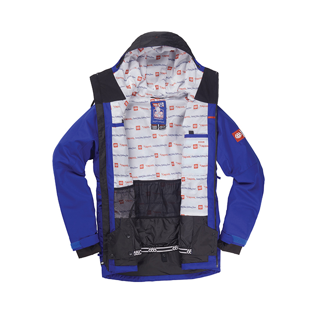 Куртка 686 Sixer Insulated Jacket (Cobalt PBR Clrblk) 2