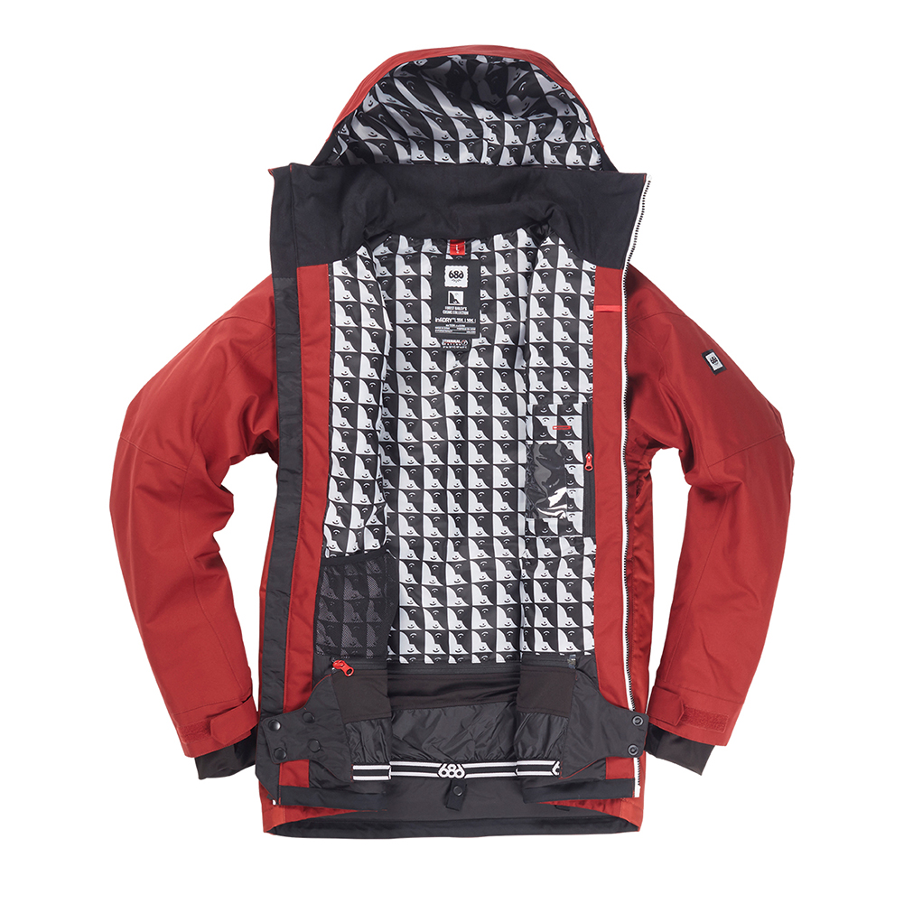 Куртка 686 Piano Insulated Jacket (Rusty Red Sublimation) 1