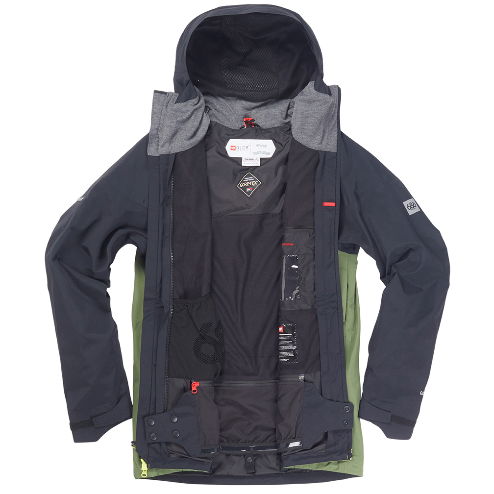 Куртка 686 GLCR GORE-TEX SMARTY 3-in-1 Weapon Jacket (Fatigue Colorblock) 3