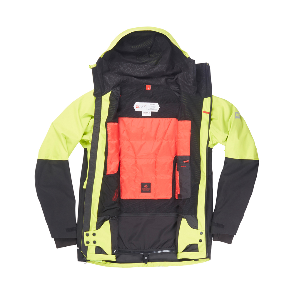 Куртка 686 GLCR Hydra Thermagraph JACKET (Lime Twill Clrblk) 3
