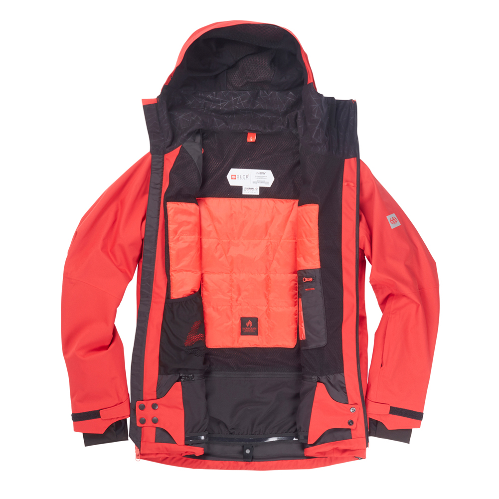 Куртка 686 GLCR Hydra Thermagraph JACKET (Red Twill) 1