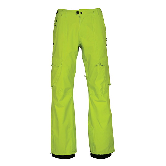 Штаны 686 GLCR Quantum Thermagraph Pant (Lime Twill) 2