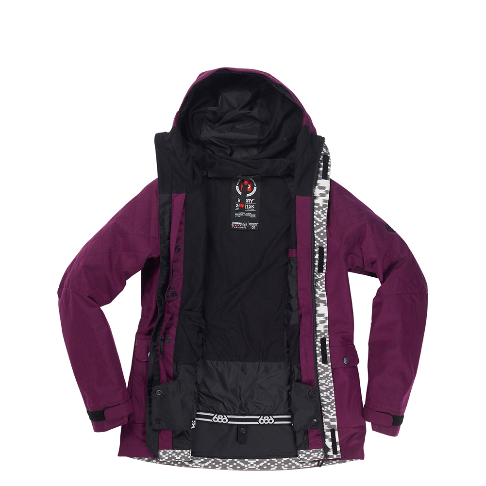 Куртка 686 Smarty 3-in-1 Aries Jacket (Fuchsia Melange) 3