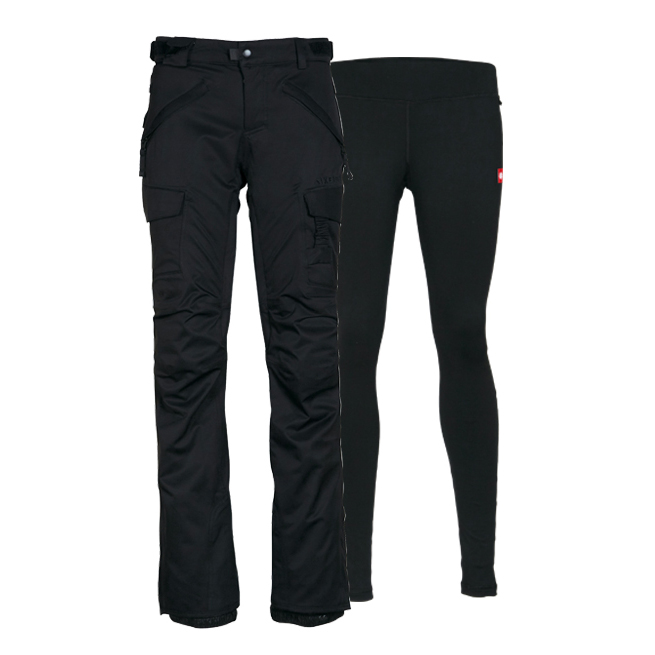 Штаны 686 Smarty 3-in-1 Cargo Pant (Black) 4