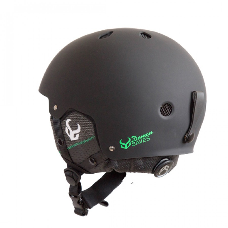 Защитный шлем DEMON Factor Helmet w.Audio (Black) 1