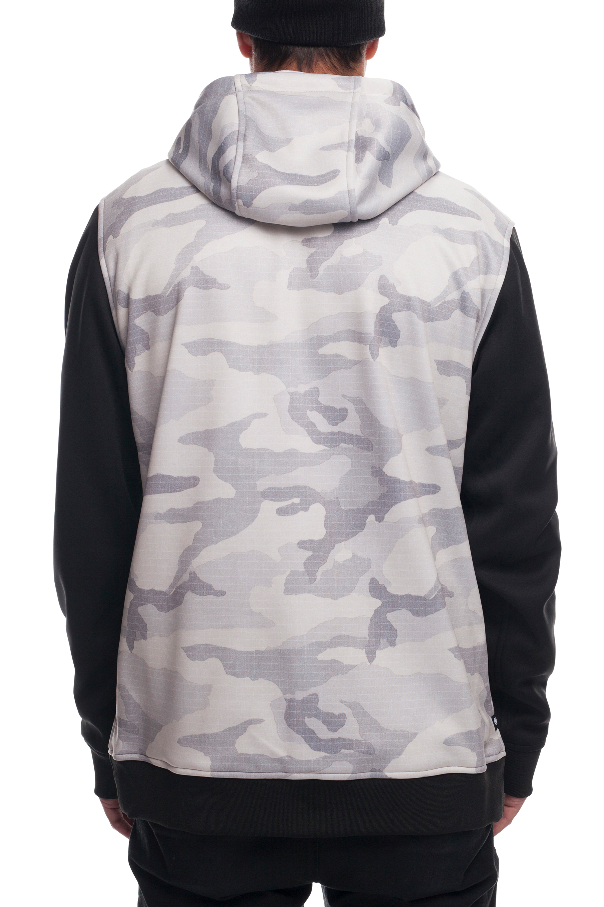 Толстовка 686 Icon Bonded Fleece Zip Hoody (White Camo)´18-19 2