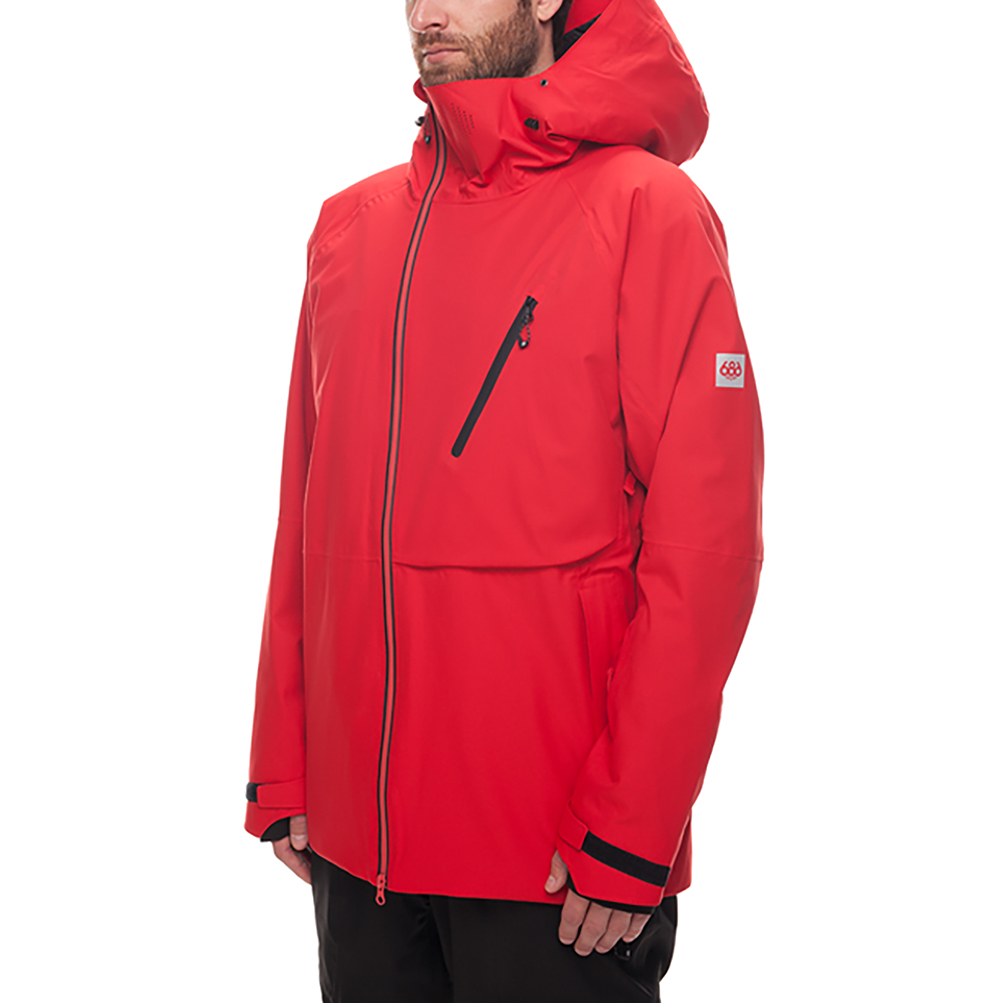 Куртка 686 GLCR Hydra Thermagraph JACKET (Red Twill) 5