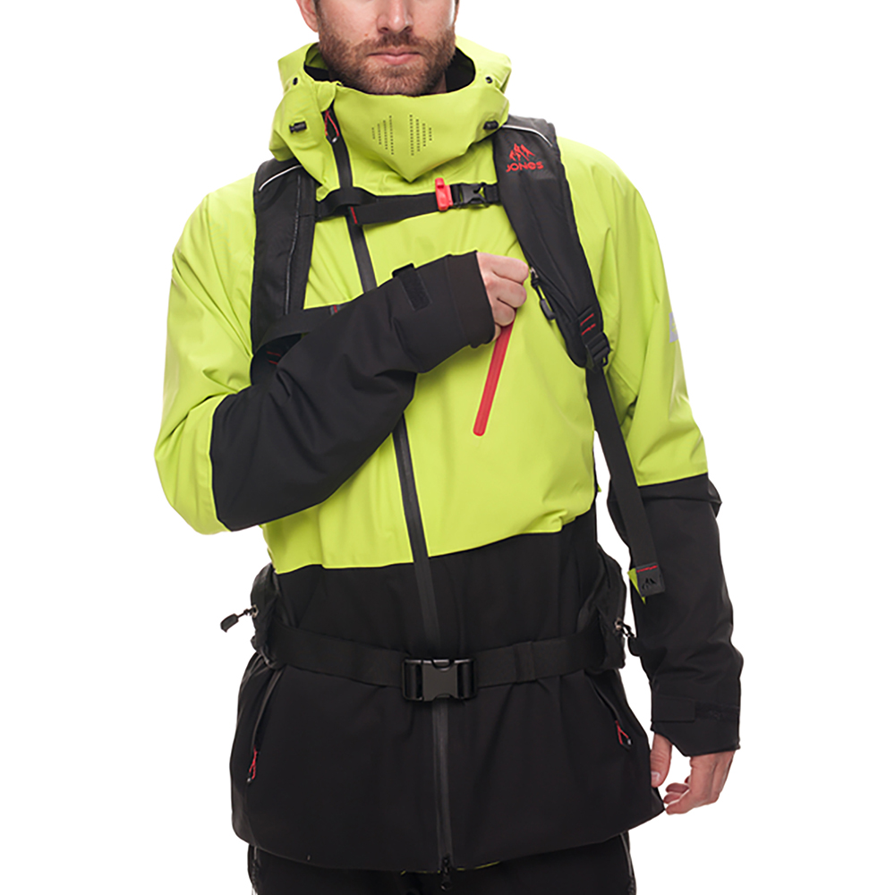 Куртка 686 GLCR Hydra Thermagraph JACKET (Lime Twill Clrblk) 1