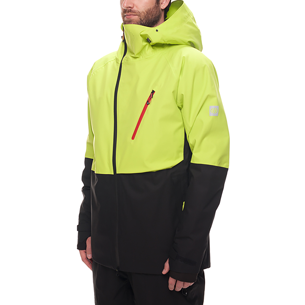 Куртка 686 GLCR Hydra Thermagraph JACKET (Lime Twill Clrblk) 7