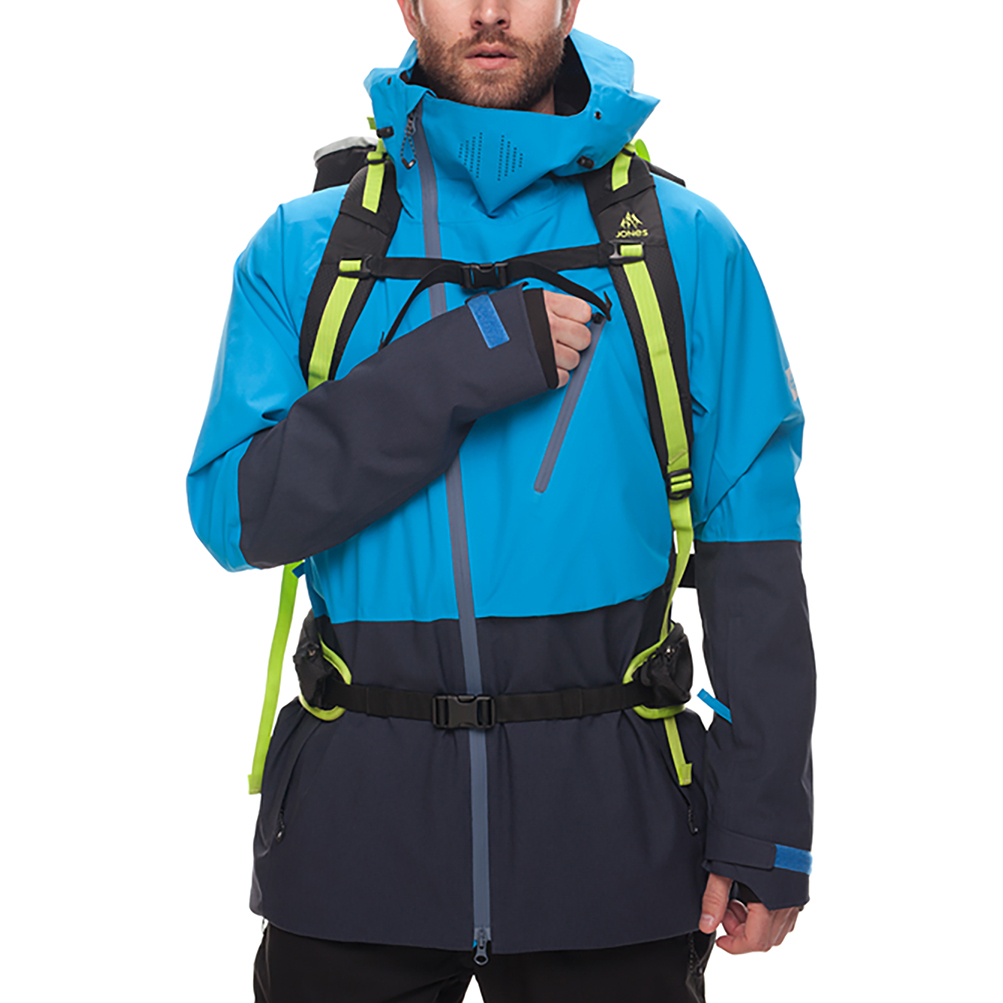 Куртка 686 GLCR Hydra Thermagraph JACKET (Blue Bird Twill Clrblk) 2