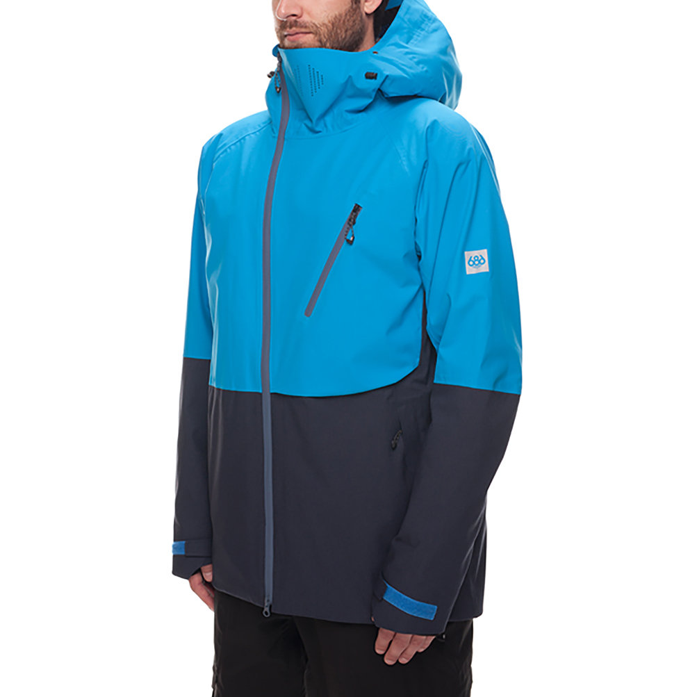 Куртка 686 GLCR Hydra Thermagraph JACKET (Blue Bird Twill Clrblk) 7