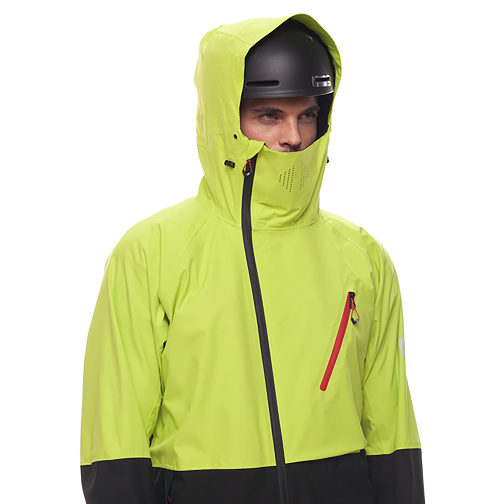 Куртка 686 GLCR Hydra Thermagraph JACKET (Lime Twill Clrblk) 4