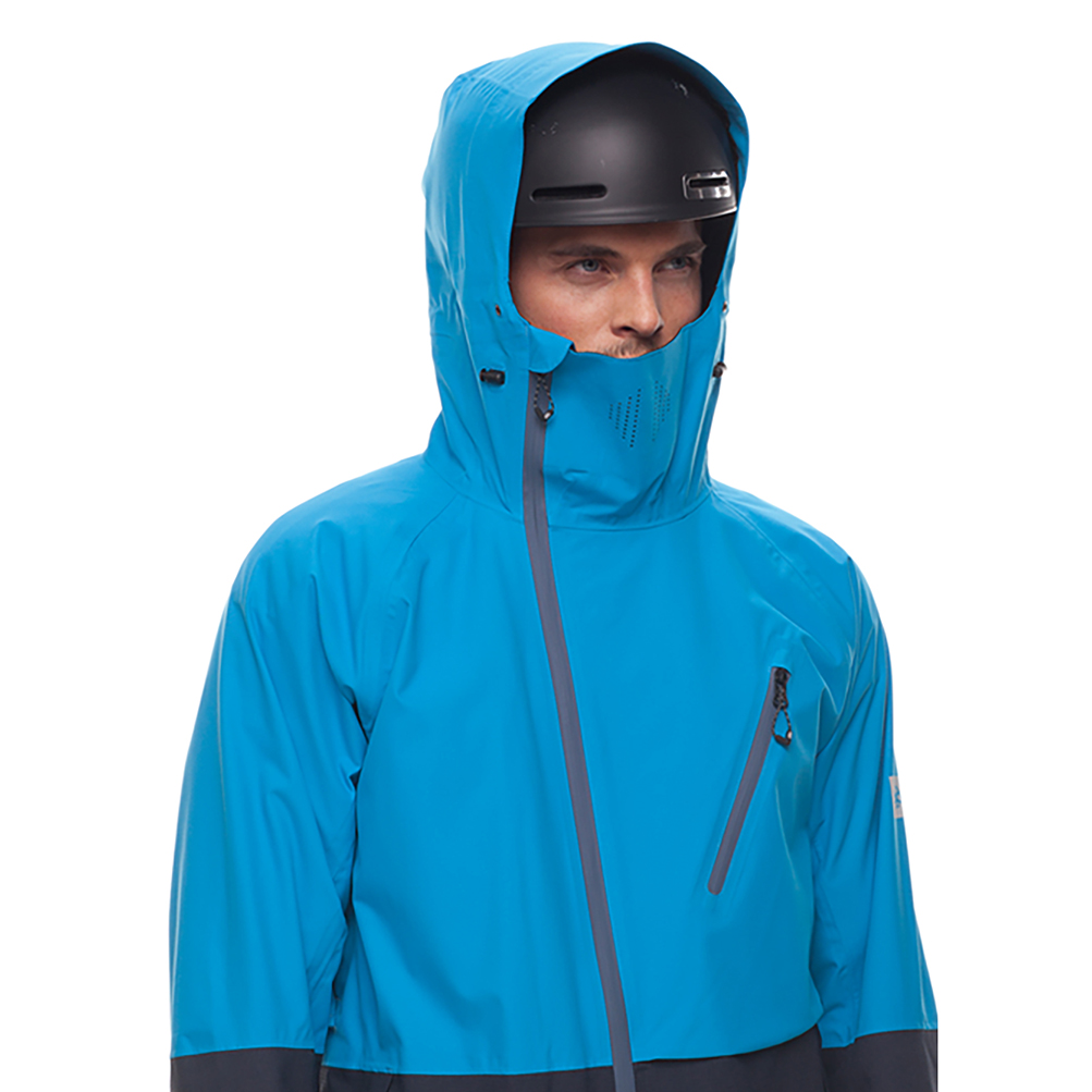 Куртка 686 GLCR Hydra Thermagraph JACKET (Blue Bird Twill Clrblk) 3