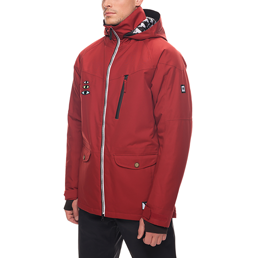 Куртка 686 Piano Insulated Jacket (Rusty Red Sublimation) 3