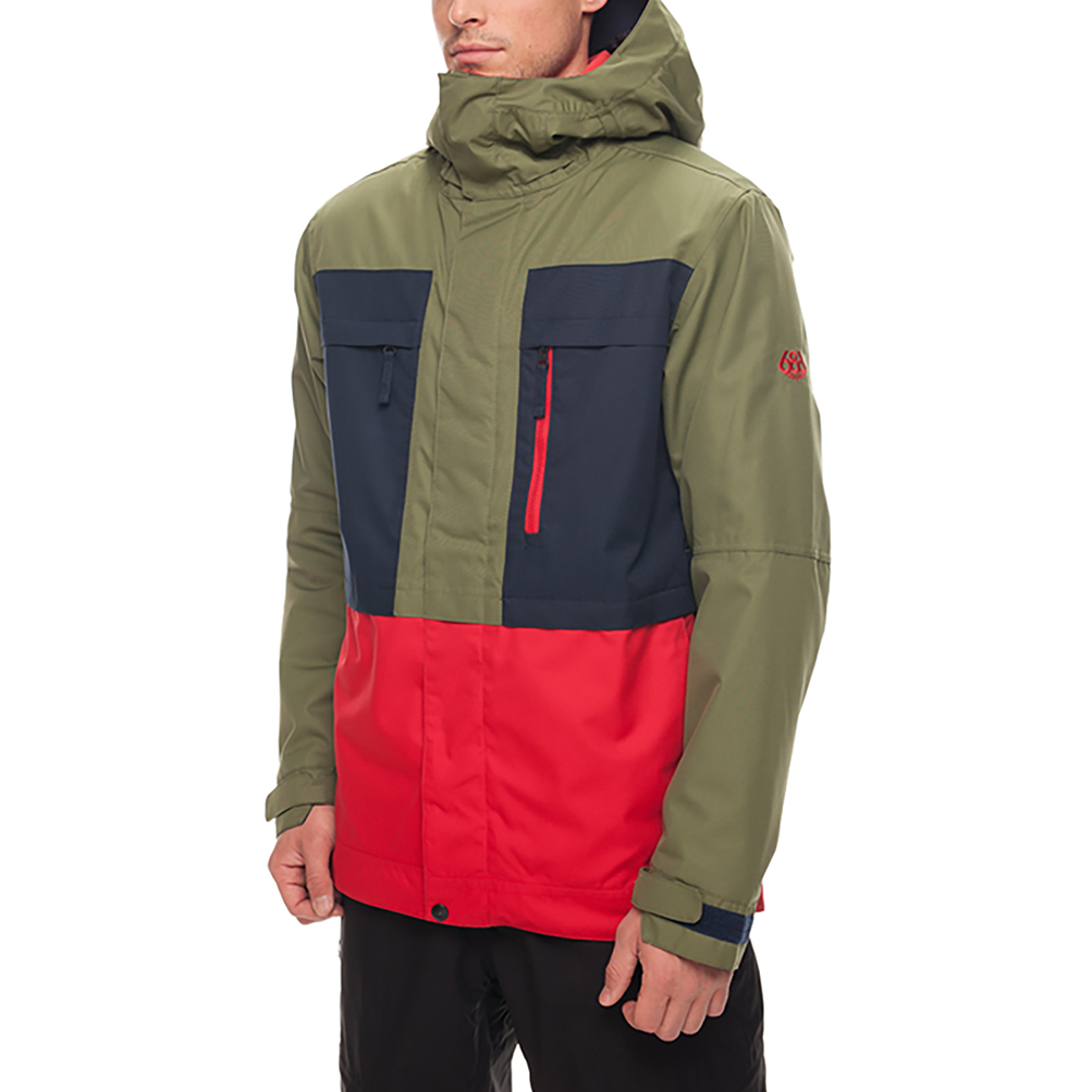 Куртка SMARTY 3-in-1 Form Jacket (Fatigue Colorblock) 1