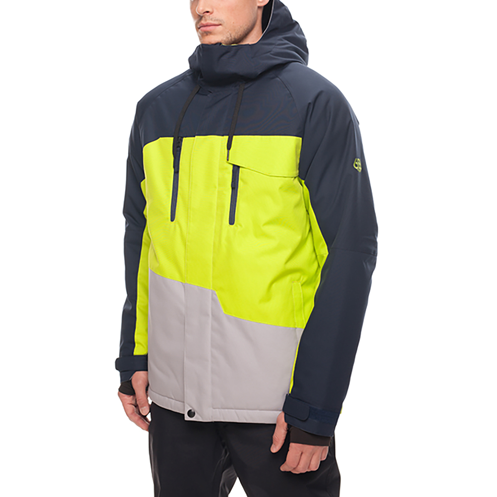 Куртка 686 Geo Insulated Jacket (Navy Colorblock) 1