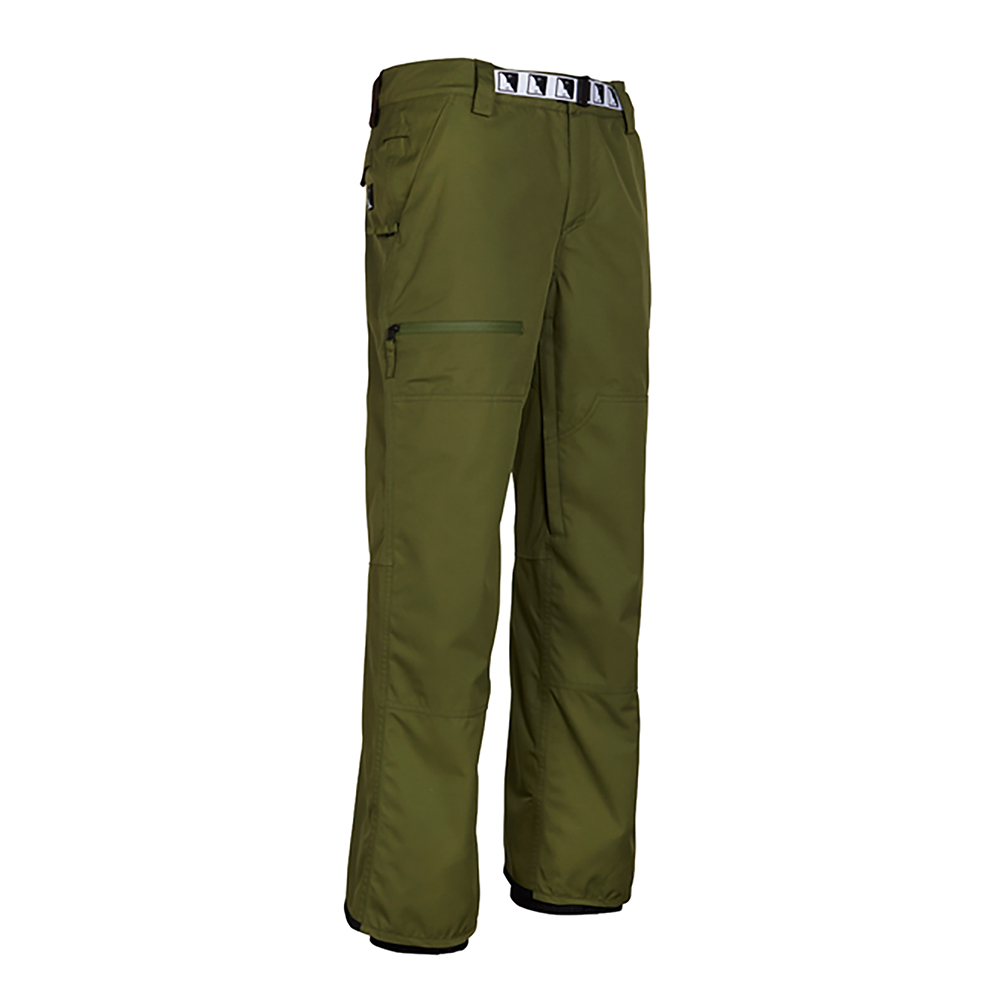 Штаны 686 Durable Double Knee Pant (Fatigue) 0