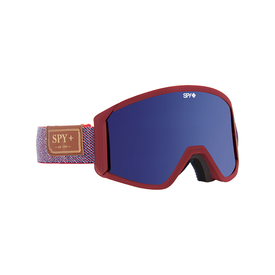 Маска SPY RAIDER Hunter Red - Dark Blue Spectra + Bonus Yellow 0