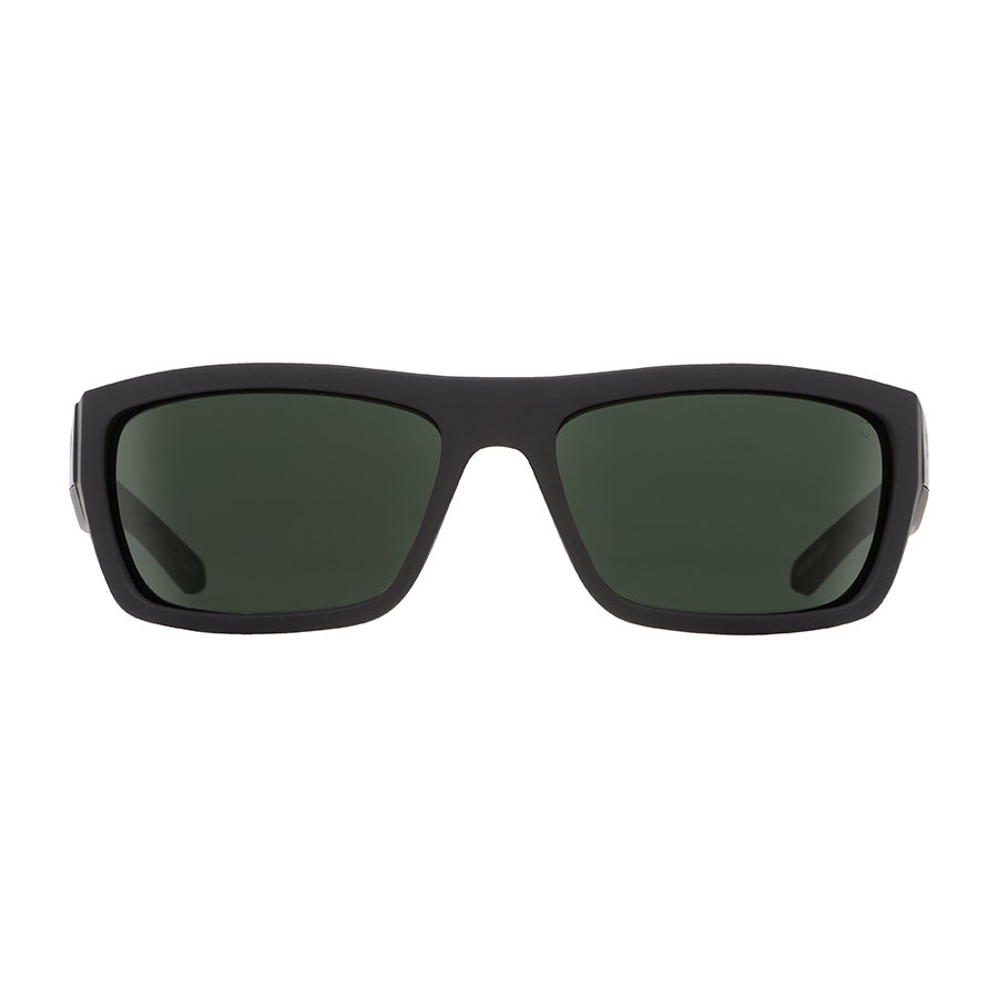 Солнцезащитные очки SPY Dega Soft Matte Black - Happy Gray Green 1