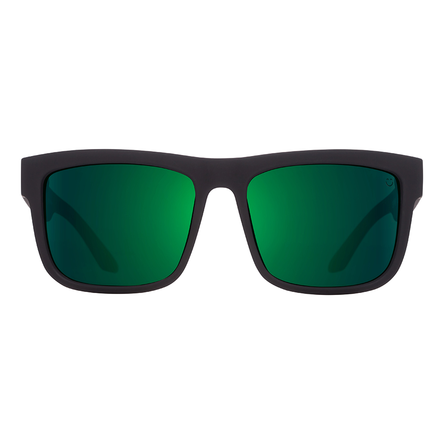 Солнцезащитные очки SPY Discord Soft Matte Black/Green Fade - Happy Gray Green W/Green Flash 3