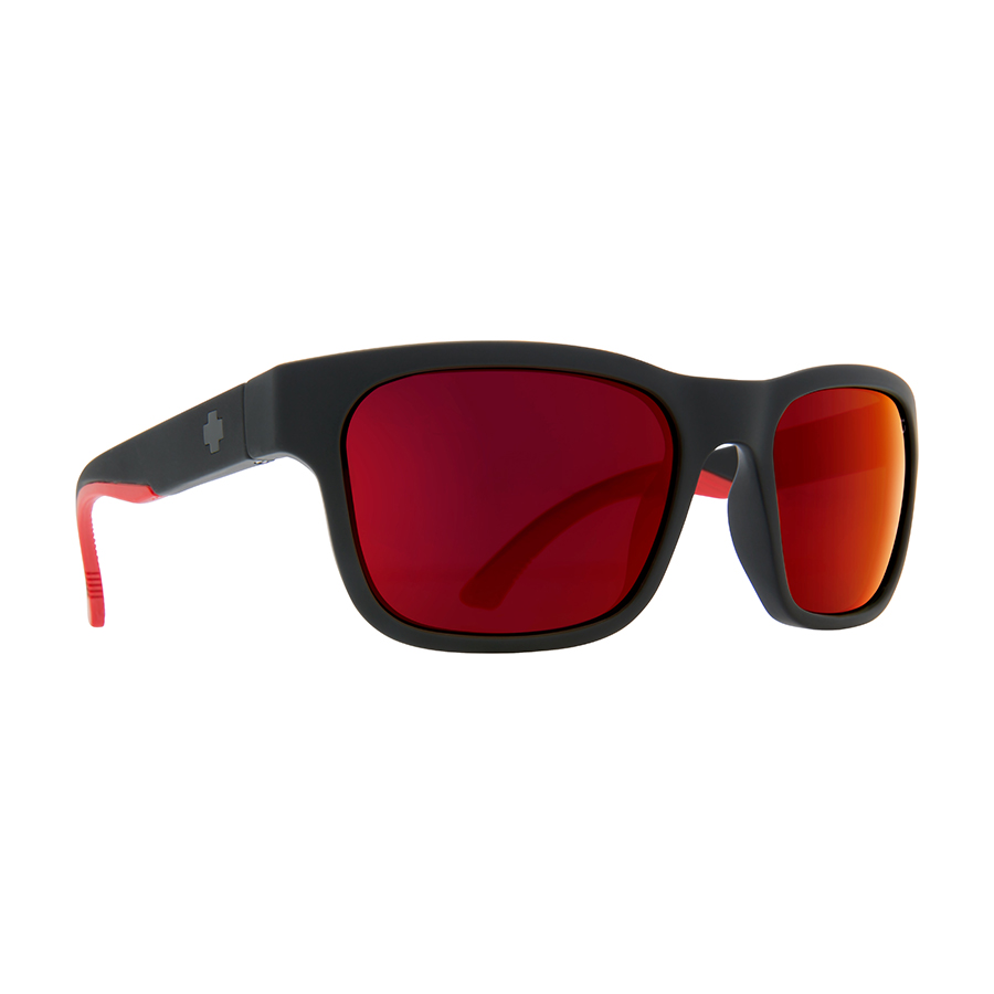 Солнцезащитные очки SPY Hunt Matte Black/Red Fade - Happy Gray Green W/Red Flash 0