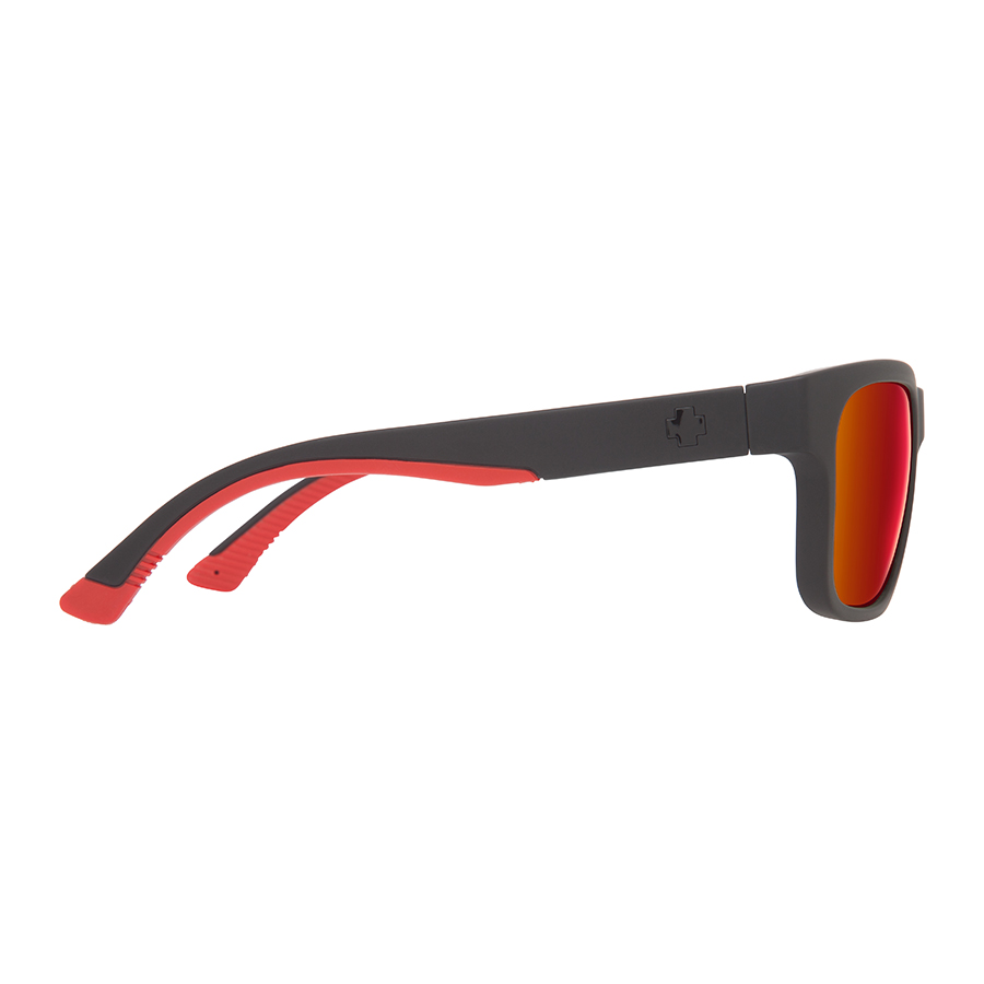 Солнцезащитные очки SPY Hunt Matte Black/Red Fade - Happy Gray Green W/Red Flash 6