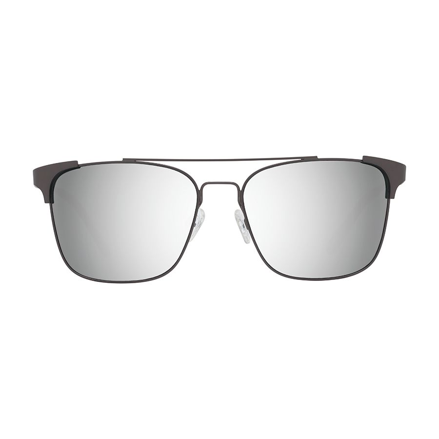 Солнцезащитные очки SPY Wingate Matte Gunmetal - Happy Gray Green W/ Silver Mirror 3