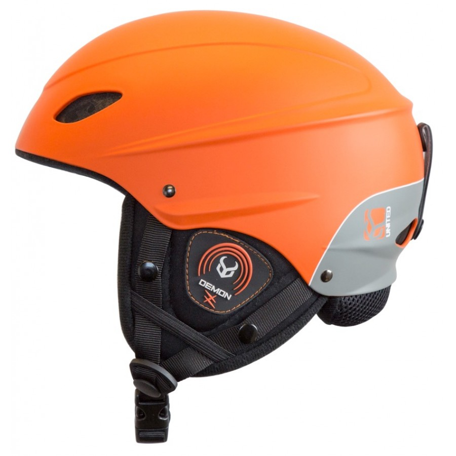 Защитный шлем DEMON Phantom Helmet w.Audio (Orange) 0